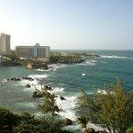 View looking towards Old San Juan