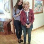 Senora Margarita y yo