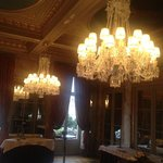 One of the ballrooms seen on our tour throug the hotel