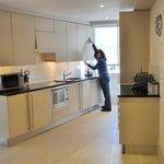 Full kitchen facilities... dishwasher/laundry/full size fridge/freezer