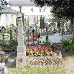 Historic garden oasis in Salzburg