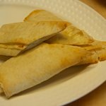 Feride: lavash bread with chese
