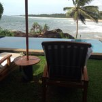 Room with a pool