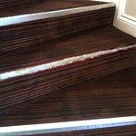 Not so good - stair way needing repairs