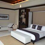 Schlafzimmer in Villa
