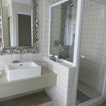 lovely shower plus bath