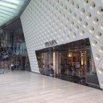 IFC Mall  - looking at the stylish Prada entrance