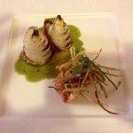 calamari con pappa al pomodoro