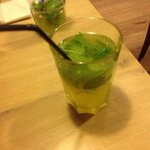 home made mint lemonade