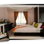 Deluxe room with two single bed