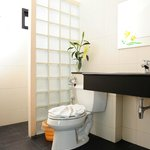 Shower room enclose toilet