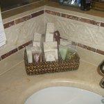 Toiletries bathroom