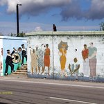 Algiers Point wall painting