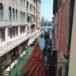 View from bathroom window towards Grand Canal