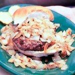Sauteed Mushroom Burger!