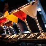 Hand pressed Martinis