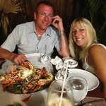 Las Palmas Restaurant...Say hello to Gigi!