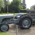 Nicely preserved old tractor at the Arran Heritage Museum.