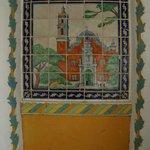 Talavera tile near Tower Room C