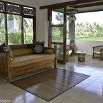Upstairs living rooms Villas 1-3