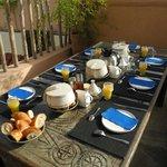 1. Dachterrasse - Frühstück