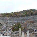 The magnificent theatre in Ephesus