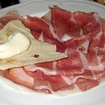 Proscuitto appetizer