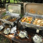 Lunch Buffet in Mara Bush Camp