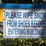Hinweis für Winter