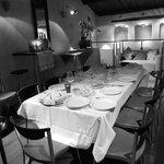 restaurante con menus personalizados, salon intimo y acogedor