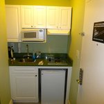 Kitchenette in Double Double Room