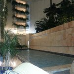 Hotel water feature