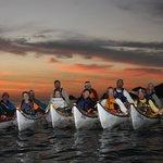 Sunrise paddling