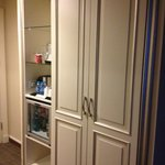 closet with mini bar