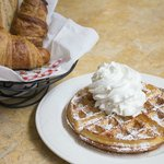Le Panier and waffle