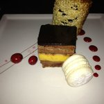 Carré Brillant, Dessert with four course lobster menu