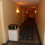 Junk in the corridor