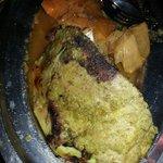 The meat couscous dish