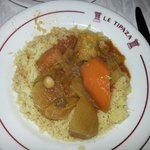 The vegetarian couscous
