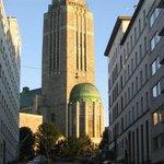 Церковь Каллио неподалеку от отеля. Архитектор Ларс Сонк.