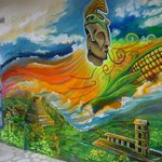 Mural in Gringo Gulch neighborhood