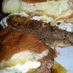 Farm Burger (not Medium as I ordered) - crazy good