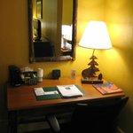 King suite - desk area.