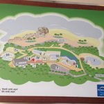 Outdated map, one of the pools closed and PortAventura logo ;)