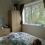 doublebed room the window