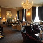 Tea room at the Shelbourne.