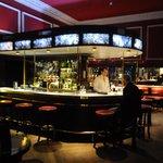 Famous Horseshoe bar at the Shelbourne.