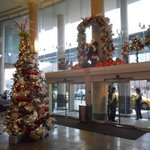 Early Christmas in the lobby