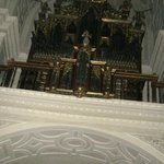 Organ in monastery chapel