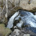 Catrigg Beck as it falls into Catrigg Force : March 2013